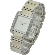 Cartier Mid Size Tank Francaise with Diamond Bracelet