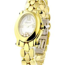 Chopard Happy Sport Oval in Yellow Gold