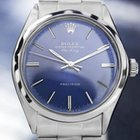 Rolex 5500 Oyster Perpetual Air-king, Blue Dial,1970s (5512)