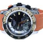 Tissot Sea Touch Orange Strap Mens Watch