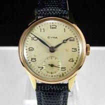 Cyma Vintage 18K Solid Gold 40's