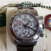 Rolex Daytona Weissgold mit Diamanten LC 100