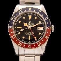 Rolex gmt ref 6542 bakelite bezel, unpolished case.