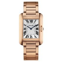 Cartier Tank Anglaise Automatic Mens Watch Ref W5310041