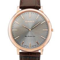 Gant Harrison W70603 Herren rosegold braun Herren 42 mm