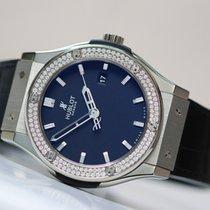 Hublot Classic Fusion Titanium Diamonds