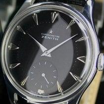 Zenith Chronometre Winding Side Second Steel Mens Watch  Cal. 135