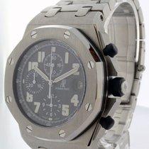 Audemars Piguet Royal Oak Offshore Steel Black Dial Watch...