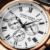 Ulysse Nardin Marine Chronograph 18K Solid Rose Gold