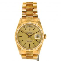 Rolex 18k Gold Day-date President Champagne 18248