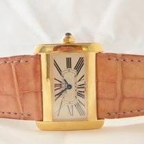 Cartier Divan Tank Lady 18k Yellow Gold