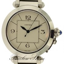 Cartier Pasha De Cartier Stainless Steel 42mm Automatic Watch...