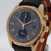 IWC Portuguese Chronograph 18K Rose Gold Ref. 390405 NEW Box...