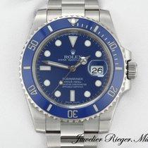 Rolex SUBMARINER DATE 116619 LB WEISSGOLD 750 AUTOMATIK