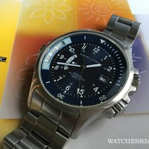 Hamilton KHAKI NAVY GMT DARK BLUE H776551 Precioso