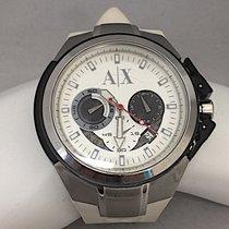 Armani Unisex Exchange Stainless Steel Quartz Chronograph...