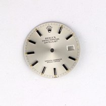 Rolex 36mm Rolex Datejust Factory Stainless Steel Silver Stick...