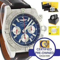 Breitling LTD United We Stand USA Chronomat 44 AB0110 Steel Watch