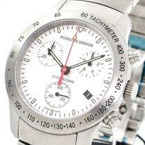 Porsche Design P10 Chronograph 39.50 mm Quarz Stahl 6600.41