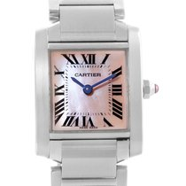 Cartier Tank Francaise Mother Of Pearl Dial Ladies Watch W51028q3