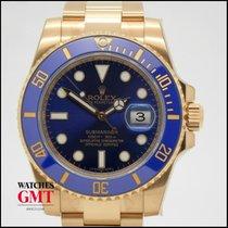 Rolex Submariner Date Ceramic Gold Blue New