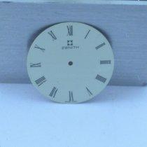 Zenith Zifferblatt Herren Uhr 28mm Rar Weiss