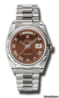 Rolex Day-Date President White Gold