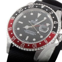 "Ρολεξ (Rolex) Mens SS GMT-Master II - Black Dial / ""Coke&#..."
