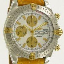 Breitling Chronomat Evolution Gold/Steel MOP Dial