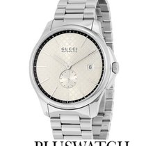 Gucci G-Timeless Automatic Silver Dial Steel 40mm YA126320 T