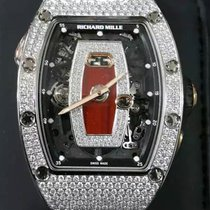 Richard Mille [NEW+RARE] RM 037 White Gold Ladies Full Set...