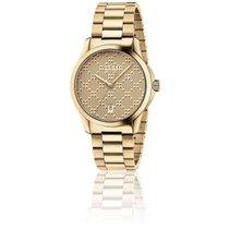 Gucci G-Timeless PVD Or jaune 38 mm YA126461