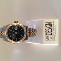 Rolex Datejust 26 mm steel gold ladies Blue dial
