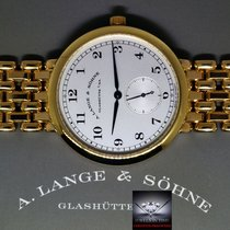 A. Lange & Söhne 1815 18k Yellow Gold Mens Bracelet Watch