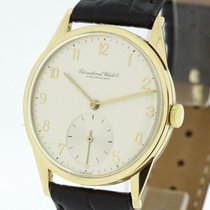 IWC Vintage Men's Watch solid 18K Gold from 1942 RARE Cal....