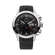 Edox Chronorally 1 Automatic 45mm Chronograph Watch 01118 3 NO