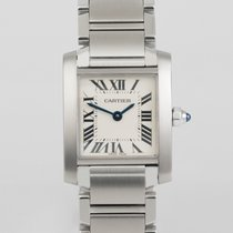 Cartier Tank Française Lady's Stainless Steel