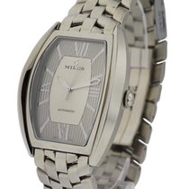 Milus AGE-SM02 Agenios Mens Automatic in Steel - On Steel...