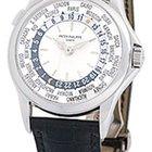 """Patek Philippe Gent's 18K White Gold  """"World Timer&#34..."""