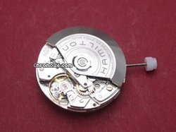 Hamilton Valjoux ETA 7750 Automatik Chronographenwerk 25 Steine signiert: HAMILTON