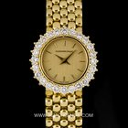 Audemars Piguet 18k Yellow Gold Diamond Bezel Ladies Co...