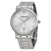 Montblanc Men's Star Classique Silver Dial Stainless Steel