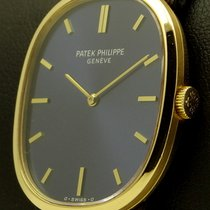 Patek Philippe Ellipse 18 kt yellow gold, blue dial, ref.3847