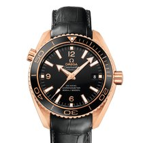 Omega Planet Ocean 600M Omega Co-Axial 42mm Red Gold 18K