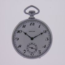Zenith Nickel Pocket Watch