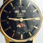 Zodiac triple calendar moonphase automatic