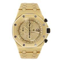 Audemars Piguet AP Offshore Chronograph Yellow Gold Watch
