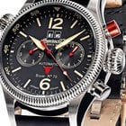 Ingersoll IN3225BK Herren Bison NO.70 Automatik 46mm 5ATM