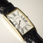 Tiffany & Co. Curved 14K Solid Gold 39mm Rectangle Roman...