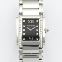 Patek Philippe Twenty-4 Steel Diamond Watch Ref. 4910/1A